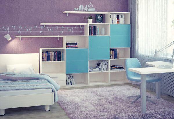 غرف نوم اطفال مودرن بتصميمات وألوان حديثة