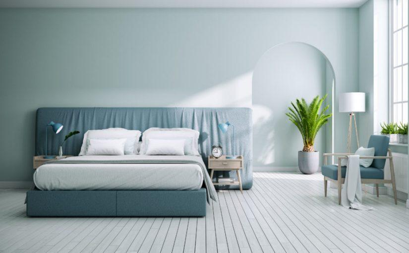 الوان غرف نوم وأفكار رائعة لاختيار دهانات الجدران