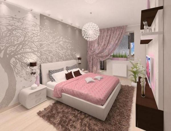 الوان غرف النوم مودرن وكيفية اختيارها