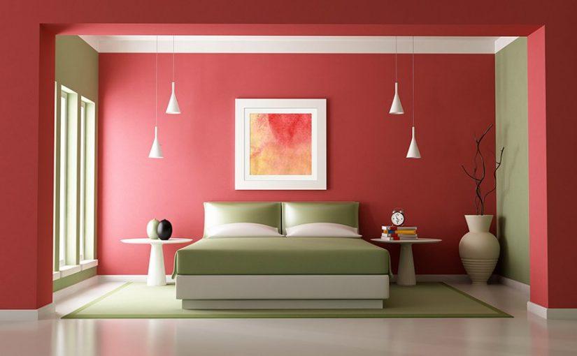 الوان غرف نوم وأفكار رائعة لاختيار دهانات الغرف